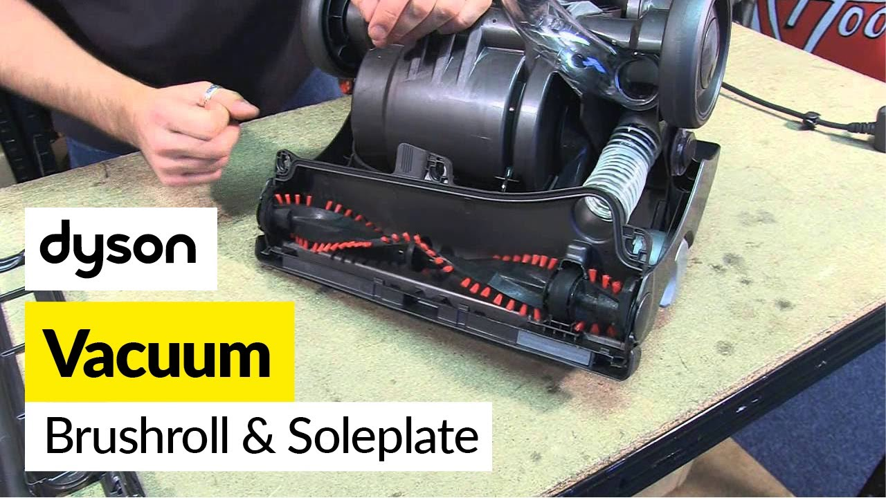 How To Replace A Brush Roll And Sole Plate Dyson Dc33