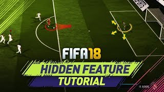 FIFA 18 NEW INSANE HIDDEN FEATURE TUTORIAL - GAME CHANGING TRICK TO CONCEDE LESS GOALS!