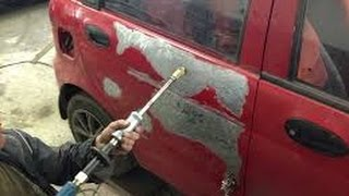 Шпаклевка покраска авто своими руками в гараже 87
