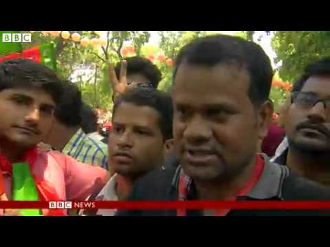 BBC News   India election  Narendra Modi celebrates poll victory