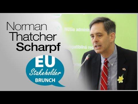 Norman Thatcher Scharpf: TTIP a Major Pillar of 21st Century Economic Growth