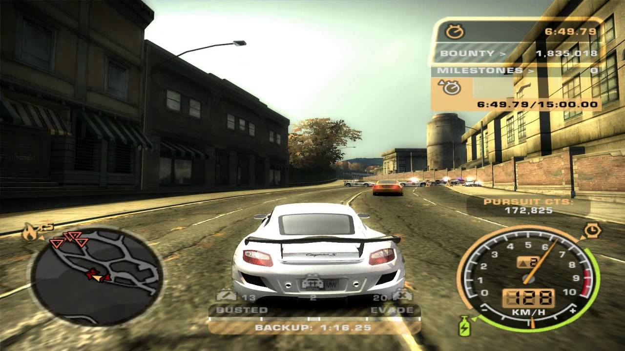 Need for speed most wanted black edition Nfs most wanted para pc