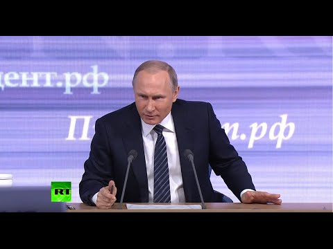 Putin: I Never Discuss Family, They're Not Involved In Politics And Business