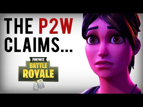 People Claim Fortnite is Pay to Win....