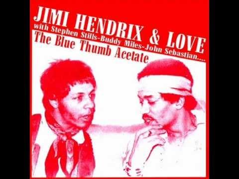 Jimi Hendrix&Love&Stephen Stills - jam