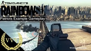Rainbow 6 Patriots First Gameplay Example