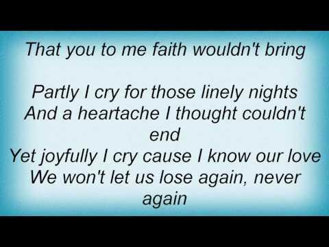 Stevie Wonder - Kiss Lonely Good-Bye Lyrics