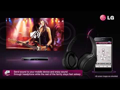 LG BP730: Reproductor Bluray 3D, tú tienes el mando