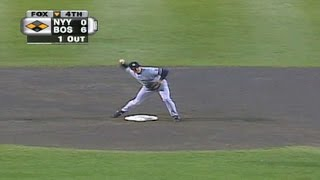 1999 ALCS Gm3: Irabu forces double play