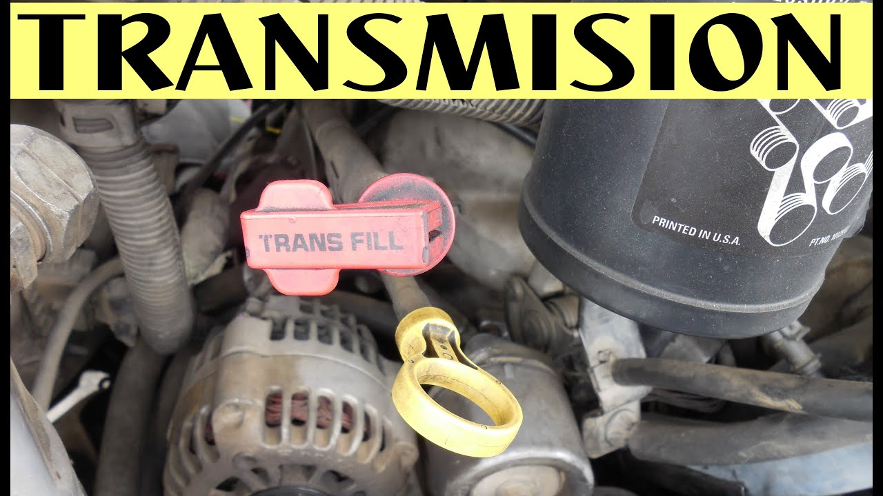 Como Comprobar Nivel De Aceite Transmission Automatica Y Manual Youtube