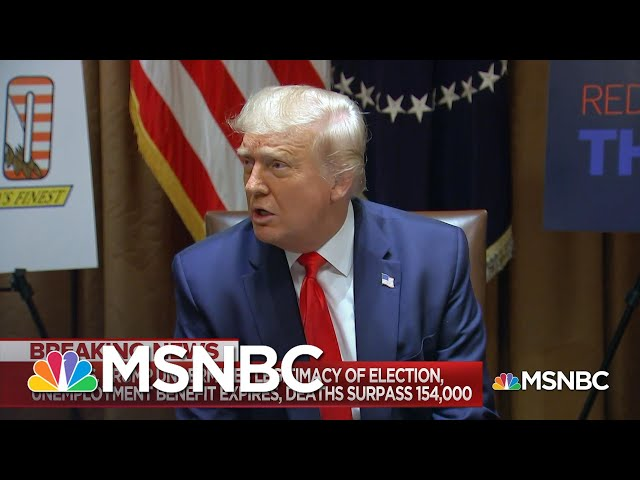 Is Trump Sowing Doubt About The Credibility Of The Election As A Campaign Strategy?  MSNBC