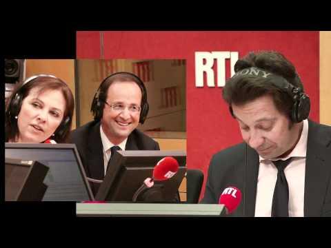 Laurent Gerra imite François Hollande... devant François Hollande !