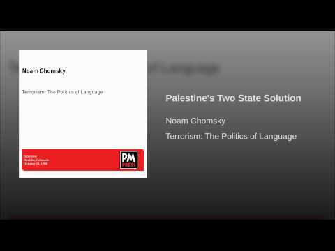 Palestine's Two State Solution