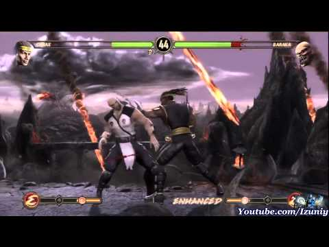 Mortal Kombat 9 Walkthrough Story Mode Chapter 4 Cyrax 2011 – HD