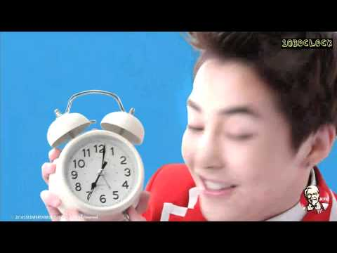 [ENGSUB] 141225 EXO x KFC wake up call - Xiumin