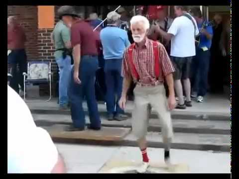 Everyday I'm Shuffling! - Party Rock Anthem - (grampa Shuffling) video