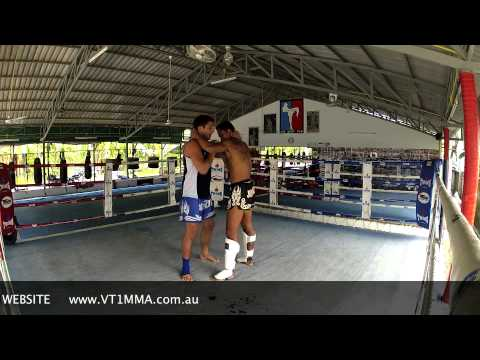 VT1 Muay Thai Clinch Fundamentals - Push Pull Theory Image 1