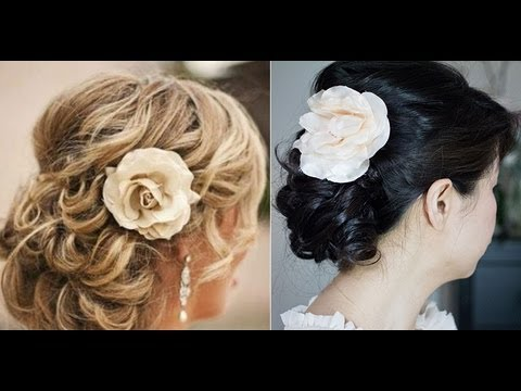 Simple Spring BridalProm Updo Tutorial YouTube
