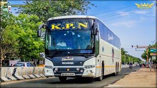 KPN Travels Scania Metrolink 14.5 near Darmapuri