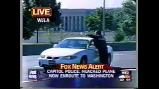 9/11 Fox News Coverage (FOX NATIONAL) from 8:43am EST to 10:43 am EST