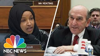 'It Was An Attack!': Omar And Abrams Share Heated Exchange   NBC News