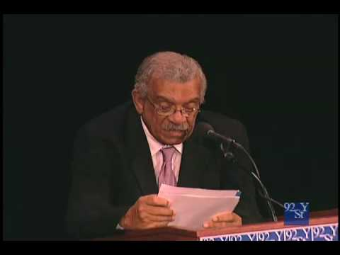 0 Derek Walcott: The Perpetual Ideal is Astonishment at the 92nd Street Y