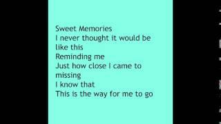 Watch Rush Sweet Memories video