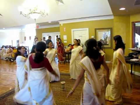 Parvanendu - Thiruvathira Dance. Exton Onam Celeb 2009 video
