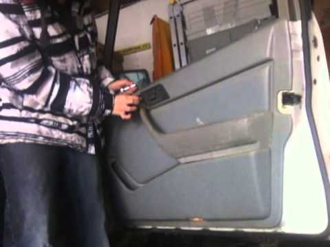 Mercedes W124 Door Panel Removal Youtube
