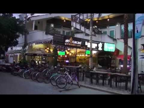 5th Ave, Playa del Carmen 2014 in 1080p (Sony HDR-TD30V)