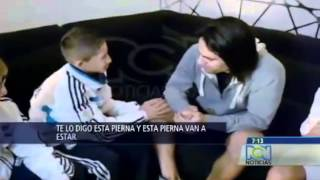 Niño hace llorar a Radamel Falcao (football player) | Vídeo completo