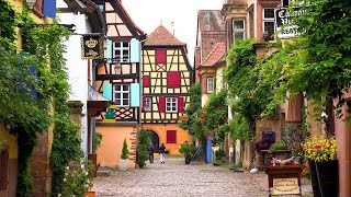 Riquewihr, Alsace, France in 4K Ultra HD