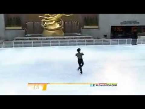 Johnny Weir on Today Show 10.01.2011