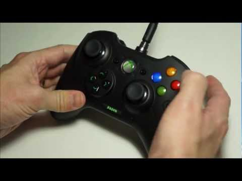 Razer Sabertooth Review - Xbox 360 Controller