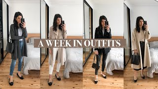 WHAT I WORE THIS WEEK - Clothing Staples I reach for when it's cold (Minimal Style) | Mademoiselle