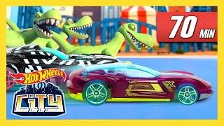 SPIDERS, DINOS, & GATORS TAKE OVER HOT WHEELS CITY! | Hot Wheels City | Hot Wheels