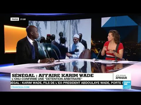 Débat France24 sur le plainte de Karim WADE au tribunal de grande instance de Paris