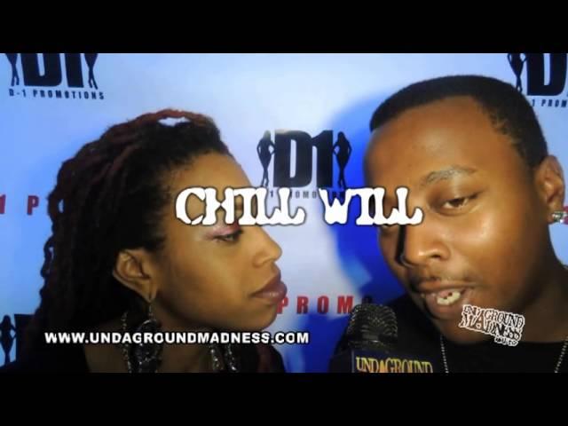 UNDAGROUND MADNESS ATL TV  CHILL WILL INTERVIEW