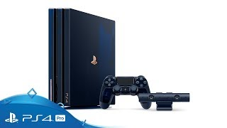PlayStation 4 Pro | 500 Million Limited Edition: Unboxing