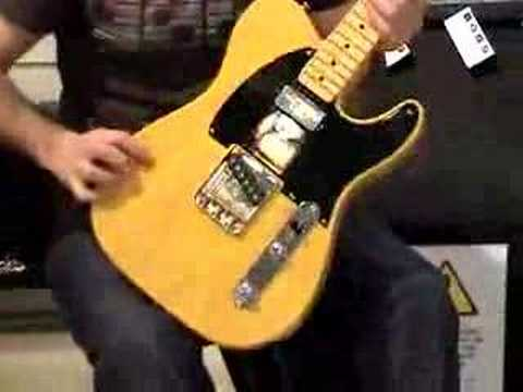 Telecaster '52 Custom HotRod Music Videos
