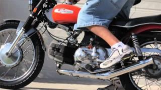 1969 Harley-Davidson Sprint Motorcycle Kick Start Aermacchi