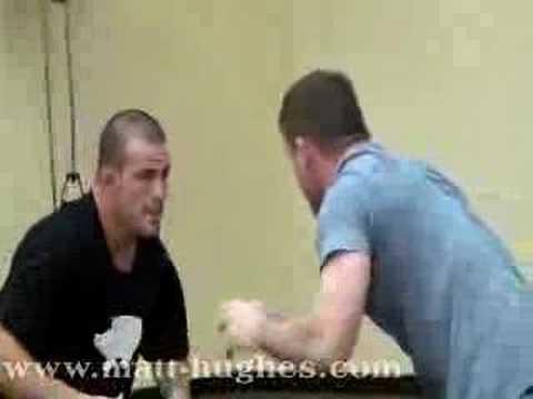 Matt Hughes Training for UFC 79 Image 1