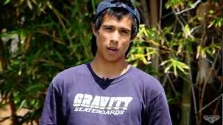 Gravity Skateboards - New Team Rider Richard Camacho