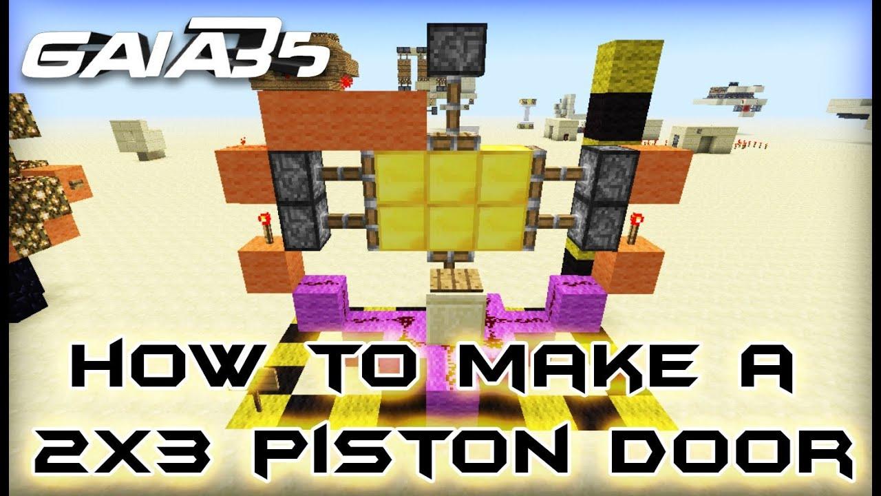 Piston Door 3x2 3x2 Piston Door Like The