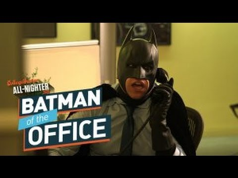 Batman of the Office (All-Nighter 2014)