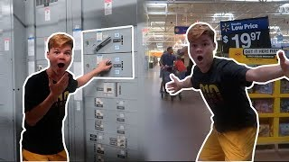 TURNING OFF ALL THE LIGHTS IN WALMART! *KICKED OUT*