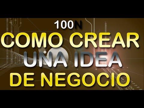 Ideas de Negocios - Como Crear Una Idea de Negocio