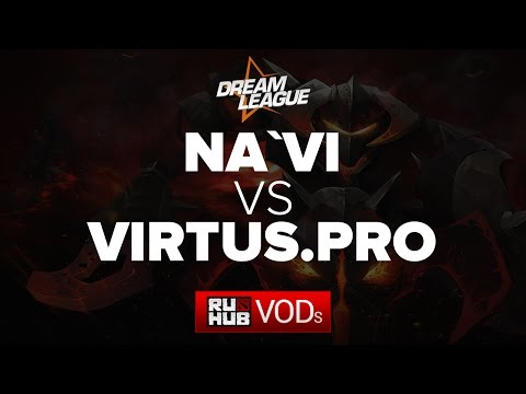 Na'Vi vs Virtus.Pro, DreamLeague Season 5, Game 2
