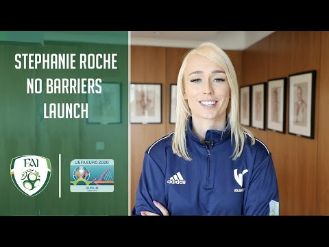 Stephanie Roche launches #NoBarriers Campaign