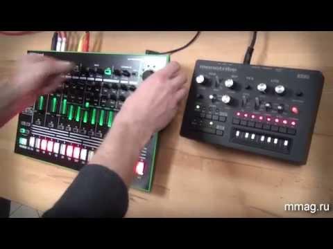 mmag.ru:  Драм-машина Roland Aira tr8 + синтезатор Korg monoiribe - видео-обзор